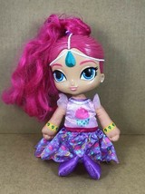 Shimmer and Shine SINGING BIRTHDAY WISHES DOLL SHINE FISHER PRICE - $14.45