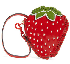 Tory Burch Strawberry Coin Pouch Purse Key Fob Bag Charm ~NWT $118~ - $84.15