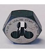 Bosch LM2506 1/4-20 High Speed Steel Hex Die 1609410453 USA - $2.97