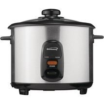 Brentwood Stainless Steel 10-cup Rice Cooker BTWTS20 - $40.71