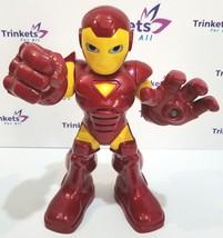 """2010 Hasbro Marvel Iron Man Action Figure 11"""" Tall - Talking & Lights up - $6.99"""