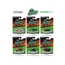 Motor World Series 17, 6pc Diecast Car Set 1/64 Diecast Model Cars by Gr... - $54.68
