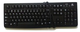 LOGITECH WIRED KEYBOARD - $210,16 MXN