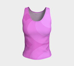 Shades of Mauve Fitted Tank Top - $28.00