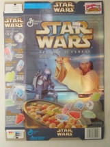 Empty STAR WARS Episode II Cereal Box 2002 GENERAL MILLS 12.25 oz [G7C12c] - $7.97