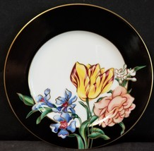 """Fitz and Floyd Bariolage des Fleurs Bread Plate 6 5/8"""" (multiple available) - $18.65"""