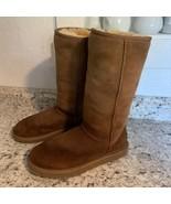 Uggs UGG sheepskin womens SHERPA original boots, size 7 waterproofed - $49.45