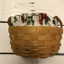 Vintage 1998 Longaberger Button Basket 15407 - $19.00