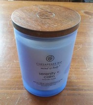 Chesapeake Bay Candle Mind and Body Medium Scented Candle Serenity Calm Lavend  - $18.00