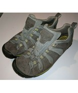 KEEN Brown light blue Leather Athletic Sneakers Womens Size 9.5 / 40 M - $32.87 CAD