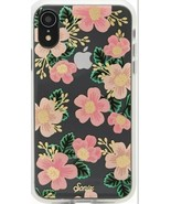 Sonix Southern Floral Case for iPhone XR Pink Flower Clear Case Apple iP... - $14.50