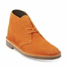 Clarks Originals Desert Boot Men's Burnt Orange Suede 26108067 - $130.00