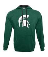 NCAA Michigan State Spartans Men's Hood 50/50 Fleece Top, Green, Large - $27.95