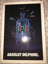 Absolut Delphine No. 207 Astronaut Shooter Recipe NEW - $3.99
