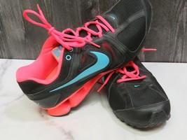 NIKE Reax Mens Size 11 Running Training Sneaker Neon Blue Black  - $43.56