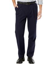 Dockers Men's Stretch Classic Pleated Fit Signature Khaki Pants D3 32WX3... - $28.99