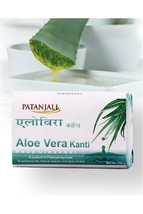 Patanjali Soap Aloevera Kanti Body Cleanser - 150 gm(4 pcs combo) - $22.48
