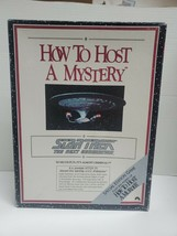Star Trek the Next Generation How to Host a Murder Mystery Game NEVER USED - $8.90