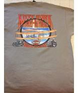 HARLEY DAVIDSON NORTH CAROLINA/ KITTY HAWK, OLIVE SIZE L - $24.29