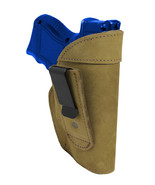 New Barsony Olive Drab Leather Tuckable IWB Holster Compact 9mm 40 45 Pi... - $32.99