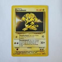 Pokemon Base Set 1999 Electabuzz Card NM 20/102 TCG Trading Card Game Unlimited - $11.64