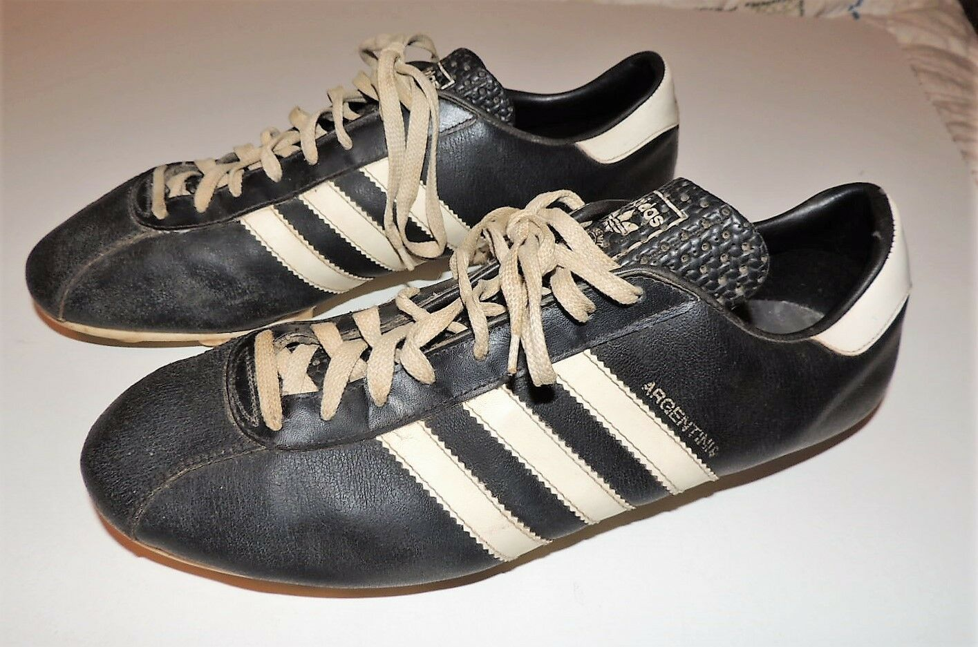 Vintage Adidas Leather Cleats Argentinia and 50 similar items