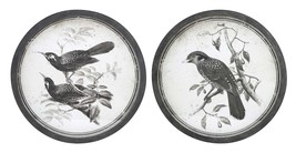 Attractive Black and White Bird Wall Decor -Assorted 2 - $145.95
