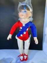 Vintage ashton drake porcelain doll the little gymnast - $20.50