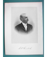 WILLIAM KIMBALL Chicago Piano & Reed Organ Maker - 1895 Portrait Antique... - $21.42