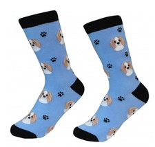 Cavalier King Charles Socks Unisex Dog Cotton/Poly One size fits most - $11.99