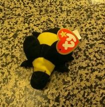 Plush Vintage Ty Mc Donald's Teenie B EAN Ie Baby Bumble The Bee - $2.48