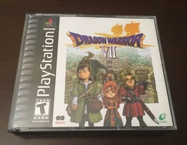 Dragon Warrior VII PlayStation 2 Discs Complete RPG Classic Game Enix 2001 - $74.24