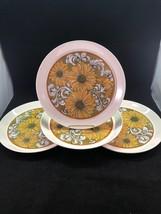 """Vintage Mikasa Duplex Ben Seibel Sunflower 10.5""""  Dinner Plate Made In Japan - $54.40"""