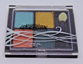 L'oreal Project Runway Eyeshadow Quad No.716 The Muse's Gaze 0.16oz./4.8g - $4.71