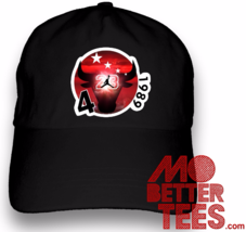 MJ Alternate Dad Hat Custom Print and Design Choose from black and white... - $14.99