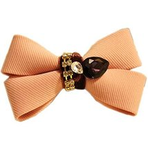 Beautiful Pink Bow Hair Claw Fashion Hair Clip Creative Hair Claw/Hairpin