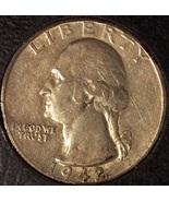 1942-S Silver Washington Quarter AU #0650 - $21.99