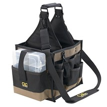 Custom LeatherCraft 1526 25 Pocket Electrical and Maintenance Tool Pouch - $60.99