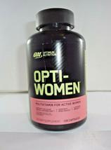Optimum Nutrition Opti-Women MultiVitamin Capsules - 120 Count (VS-O) - $25.19