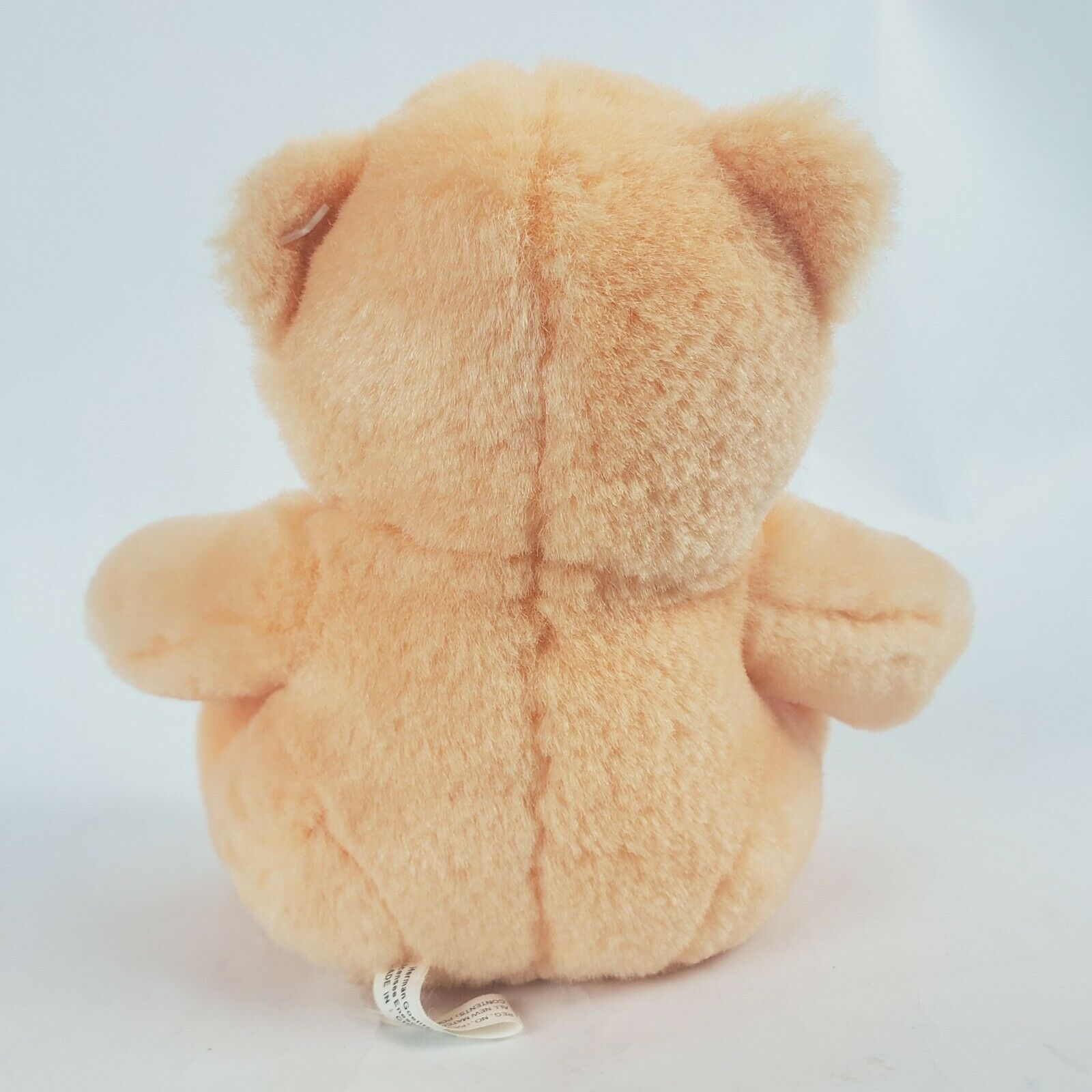 "Jelly Belly Orange Bear 6"" Plush Teddy Stuffed Animal Hermen Goelitz Enesco image 4"