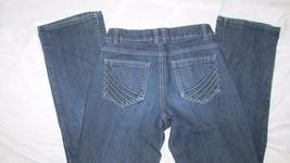 "Sonoma life + Style 4 Original Boot cut Jeans women dark wash stretch 31"" inseam - $12.99"