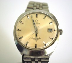 Vintage 1970's Omega Seamaster Cosmic Wristwatch, Mint! - $795.00
