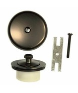 Lift & Turn Drain Trim Kit with Overflow in Oil Rubbed Bronze - $26.80