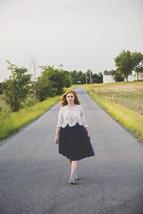 Women's Navy Tutu Skirt High Waist Navy Tulle Midi Tulle Skirt Party Prom Skirt  image 5