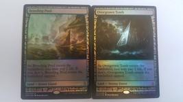 Mtg Magic PROXY FOIL 10X Shock Lands Zendikar Expeditions 10 Cards Commander FOI image 3