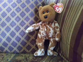 Ty Beanie Baby Hero Military UK Teddy Bear Stuffed Animal Plush - $14.99