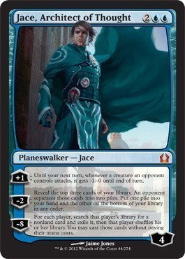 Magic the Gathering - Jace, Architect of Thought (44) - Return to Ravnica