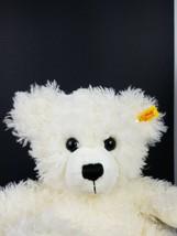 Steiff 111662 White Fuzzy Lizzy Teddy Bear Stuffed Animal Plush Soft Toy... - $70.13