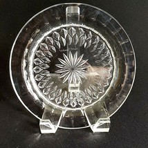 1 (One) VAL ST LAMBERT IMPERIAL Cut Crystal Bread & Butter Plate  D/C-Si... - $14.24