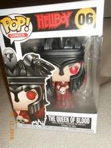 NIB Funko Pop Comics Hellboy The Queen Of Blood Figure Bobble Stocking ... - $19.79